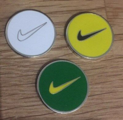 Set of three Magnetic golf ball markers                                m182
