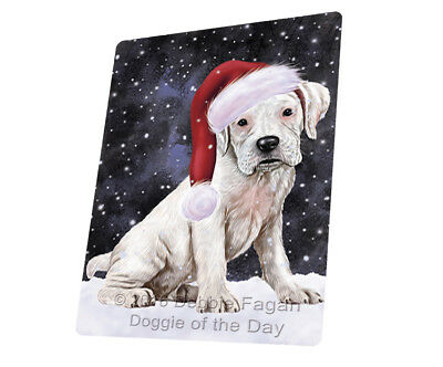 Let it Snow Christmas Holiday Labrador Dog Woven Throw Sherpa Blanket T02