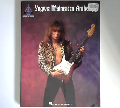 Yngwie Malmsteen Anthology Tab Book