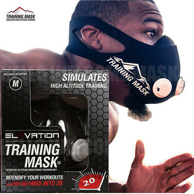 Training Mask 2.0 High Altitude Training Altitude Mask MMA Mask Elevation...