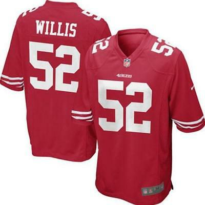 San Francisco 49ers 52 Willis shirt - adult M