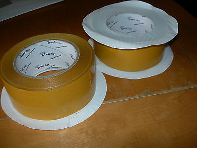 Dupont Tyvek Acrylic Housewrap Double Sided Tape 50Mm X 25M For Tyvek Membranes