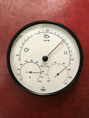 Weather Station Barometer Thermometer Hygrometer Dr. Friedrichs Made in Germany