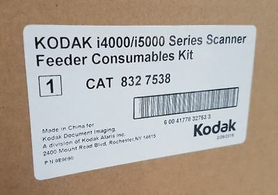 Feeder Consumables Kit for Kodak i4000/i5000 Scanners - 8327538