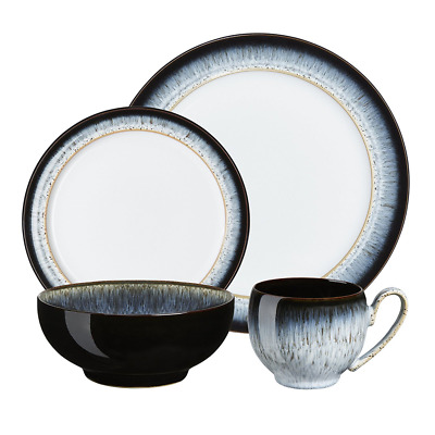 Denby Halo 16 Piece Dinner Set Gift Boxed RRP £192
