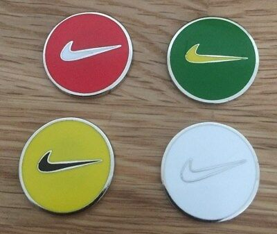 Set of four Magnetic golf ball markers             m177