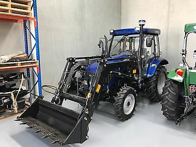 55hp Enfly Tractor, 4in1 Front End Loader, Aircon Cabin, Melbourne
