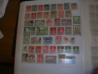Argentine 47 Timbres Oblitees Different