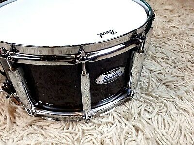 "Pearl Masters Maple Complete 14""x6,5"" #329 Burnished Bronze Glitter Snare Drum"