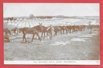 Betterton Camp, 101 Battery Rfa, Horse Lines, Nr. Wantage.