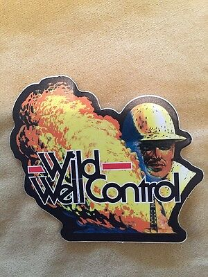 Wild Well Control Hard Hat Stickers