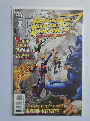 Justice Society of America 80 Page Giant | DC #1, 8.0/VF, (2010)