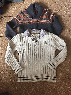 2x Boys Jumpers age 7-8
