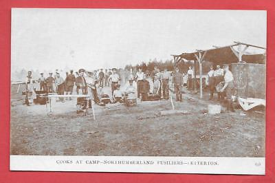 Betterton Camp, Cooks, Kitchen, Northumberland Fusiliers, Nr. Wantage.