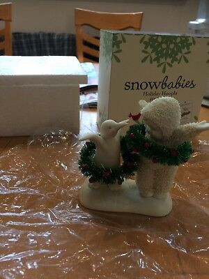 Snowbabies Holiday Hoopla Figurine
