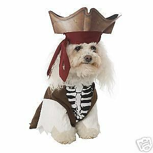 Capt. Jack Pirate Costume for Pets (Brand New - Cute!)