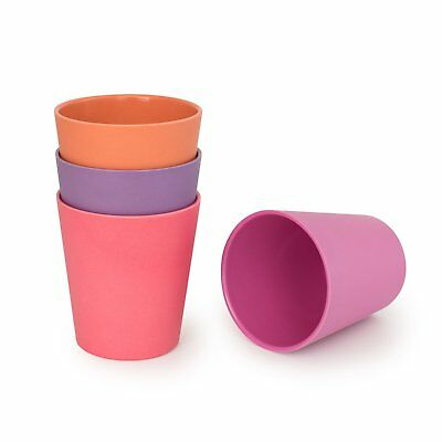 Bobo & Boo - Bamboo Cup - 4 Pack - Sunset