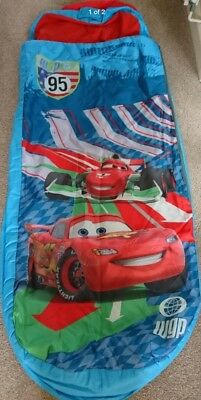 Blue Disney Pixar Cars 2 Ready Bed Child Blow Up Camping Sleep Over