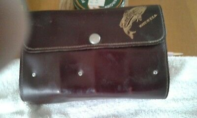 vintage American fishing fly wallet