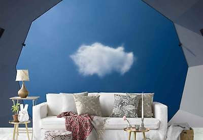 Polygon Opening Hole Sky Cloud Photo Wallpaper Wall Mural (1X-925507)