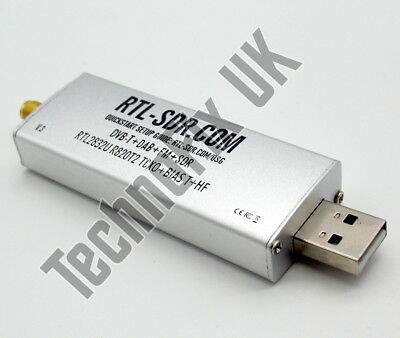 Super stable 1ppm TCXO R820T2 tuner RTL2832U RTL-SDR USB Stick ver.3 now with HF