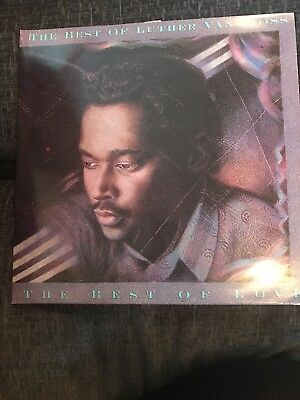 The Best Of Luther Vandross 1989 UK DOUBLE Vinyl LP GOOD CONDITION GATEFOLD
