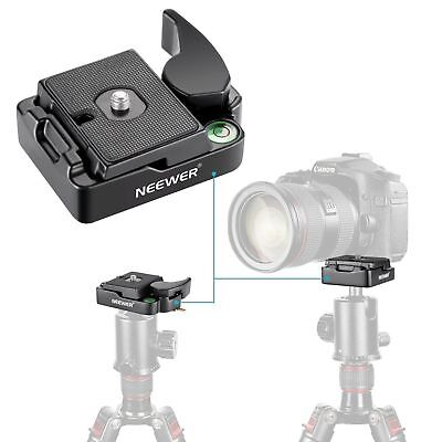 "Neewer 1/4"" Quick Shoe Plate for DSLR Camera Tripod Monopod Ball Head Stabilizer"