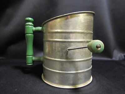 Vintage Flour Sifter 1940's. Free Shipping!