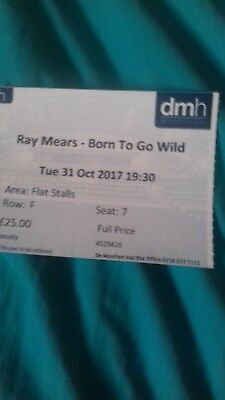 Ray Mears-Born to go Wild at Demontfort Hall