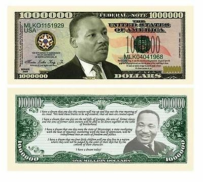 USA Fantasy NM-253 Personality Serie Martin Luther King One Million Dollars CA