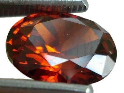 TOP FI GRANAT 4,4 ct OVAL ROT LUPENREIN