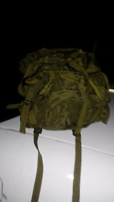 Genuine Army Special Opps.Backpack (Worn in Desert Storm)