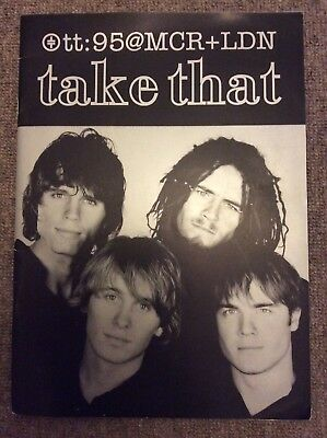 Take That 1995 Manchester Arena And London Earls Court Tour Programme