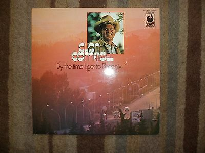 """Glen Campbell - By the Time I Get to Phoenix 1969 12"""" Vinyl Album"""