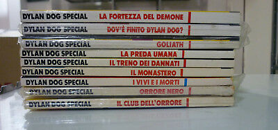Lotto 9 numeri speciali Dylan Dog