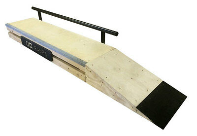 Skateboard Grind Box Kicker Only (Grind Box and Rail Sold Separately)