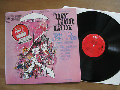 MY FAIR LADY (AUDRAY HEPBURN, REX HARRISON) - SOUNDTRACK  rare LP  -  NM