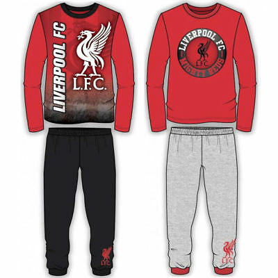 Kids Boys Official Liverpool Pyjamas PJ's Nightwear Pyjama Set Sleepwear