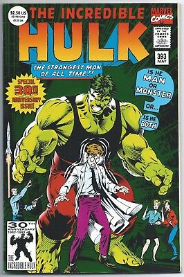 The Incredible Hulk #393, Marvel Comics, 1992, 30th Anniversary Special Giant