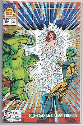 The Incredible Hulk #400, Foil Special Issue Ghost of the Past Part 4 Conclusion