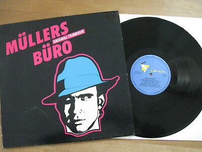 Müller´s Büro (Niki List) -  Soundtrack -  Kult - Lp  - Ex / Nm - Austro Mechana