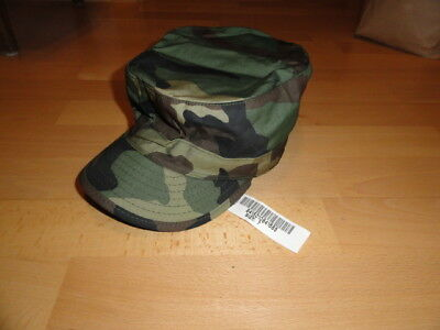 New US ARMY WOODLAND FIELD CAP 7 BDU MÜTZE HAT REFORGER USAF TARNMÜTZE UNIFORM 2