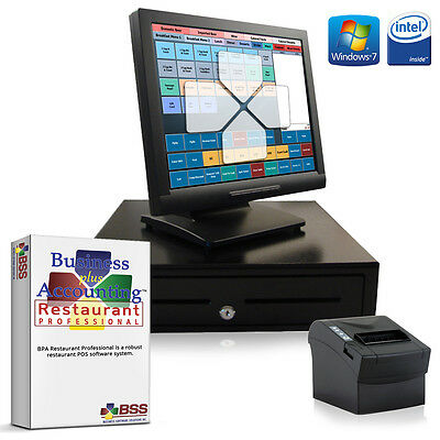 New 1 Station Restaurant/Bar Hardware & Software Bundle