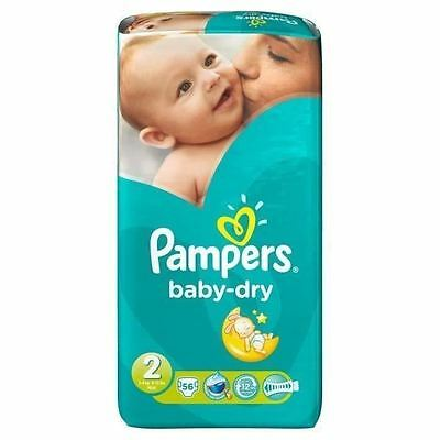 """Couches """"PAMPERS"""" BABY DRY"""
