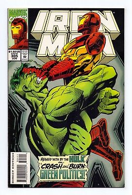 Marvel Comics: Iron Man #305