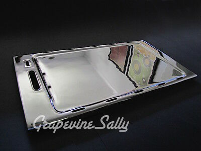 "NEW CHROMED O'Keefe & Merritt Vintage Stove Parts Stove Top Griddle 22.0""x12.0"""
