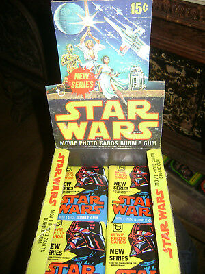TOPPS Star Wars SERIES 2 Sealed (1) Wax Pack 1977 vintage RARE 40 YRS MAKE OFFER