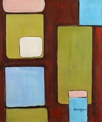 Modern Contemporary Abstract Painting Oil Painting on canvas - hand (t6h)