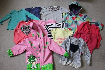 Girls bundle of clothes 3 - 4 years (rain coat, jacket, t-shirts, jumpers)