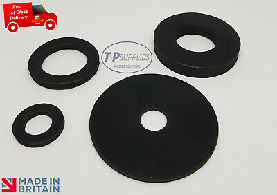 2 x Pick own size Solid Nitrile NBR Rubber Washer 3mm thk, upto 30mm diameter